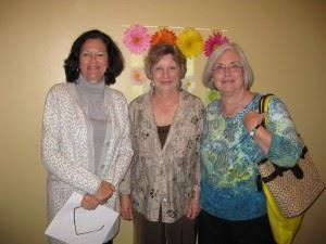 Robin Pallastrone Kay Low and Phyllis Cagle